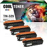 Cool Toner Kompatibel Toner für TN325 TN320 Mit Chip für Brother HL-4140CN HL-4140 HL-4150 HL-4150CDN HL-4570 HL-4570CDW HL-4570CDWT, MFC-9460CDN MFC-9465CDN MFC-9560CDW MFC-9970CDW DCP-9055CDN DCP-9270CDN Drucker
