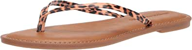 Amazon Essentials Sal Thong Sandal - Sandales Flats - Femme