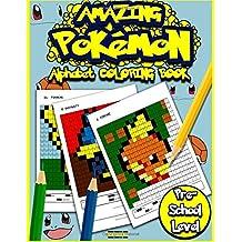 Amazing Pokemon Alphabet Coloring Book: Cool Preschool Activity Book For Pokemon Go Fans (Alphabet Activity Books) (Volume 1)