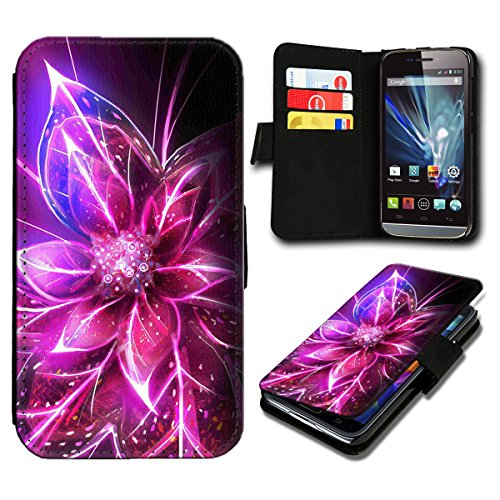 Book Style Huawei Ascend Y635 Premium PU-Leder Tasche Flip Brieftasche Handy Hülle mit Kartenfächer für Huawei Ascend Y635 - Design Flip SB558