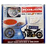 Rolon chain and Sprocket Kit : Royal Enfield Bullet Electra 350cc 'O' Ring kit