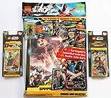 Blue Ocean Lego Star Wars Sammelkarten Serie 1 - Starterpack + 2 x Blister Inklusive Karten Limitierte Edition