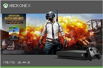 Microsoft 1 TB Xbox One X Console (Free Game: PlayerUnknown's  BattleGrounds Bundle)