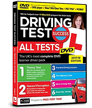 Driving Test Success All Tests DVD 2017/18 Edition