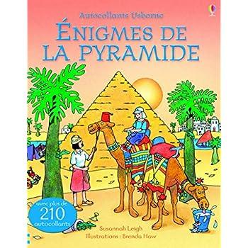 Enigmes de la pyramide - Autocollants Usborne