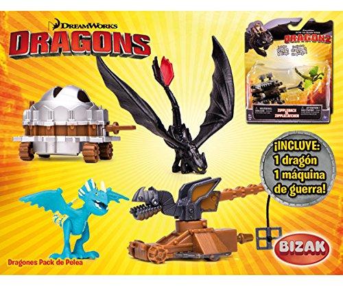 Bizak–Pack von Streit Dragon + Maschine Dragons of Berk