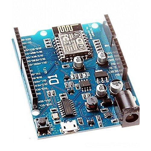 PIXNOR Elettronica Intelligente ESP 12E WeMos D1 WiFi Uno Basato ESP8266 Shield per Arduino Compatibile