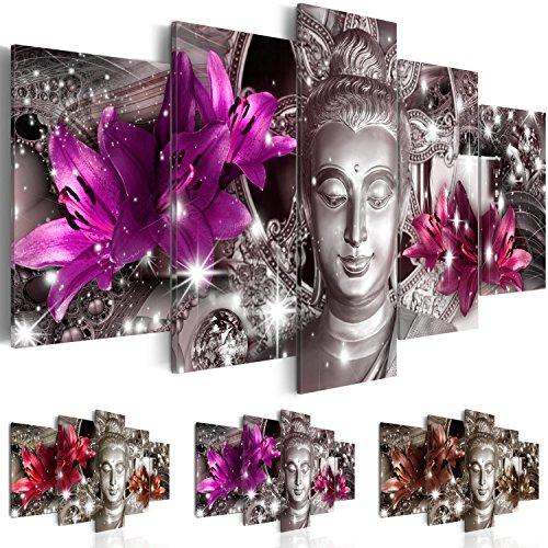 impression-sur-toile-200x100-cm-grand-format-xxl-3-couleurs-au-choix-5-pieces-image-sur-toile-images