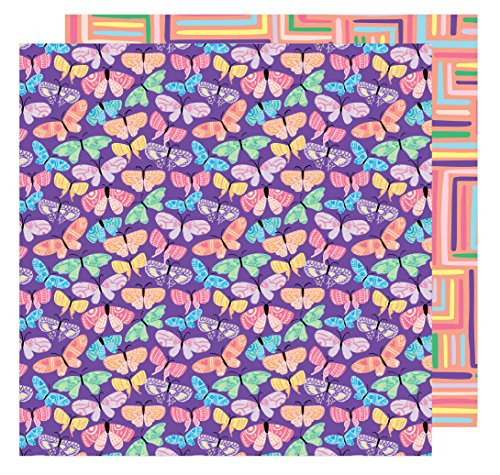 AMY Tan 30,5x 30,5cm Papier Flutter by (25Pack), 12-x-12-inch