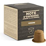 Note d'Espresso - Ginseng - Capsules Exclusivement Compatibles avec Machine NESPRESSO* - 40 x 4,3 g
