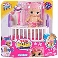 "Little Live Bizzy Bubs 28475"" Cute Crib Doll"