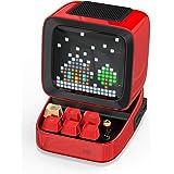 Divoom Ditoo Retro Pixel Art Bluetooth-Lautsprecher mit programmierbaren RGB-LED-Bildschirm, Gaming-Gadget mit mechanischer T