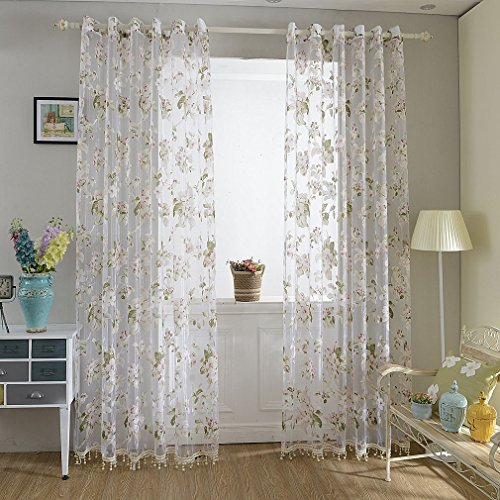 40 pezzi tende velate con occhielli 145 x 245 cm kinlo - Tenda moderna soggiorno ...