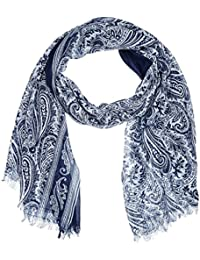 Kaporal Crebo, Foulard Homme, Multicolore (Navy/White), Taille Unique (Taille Fabricant: Taille Unique)