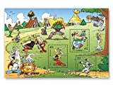 Asterix & Obelix | Briefmarken-Block |Deutsche Post | postfrisch |Idefix |Miraculix |Majestix |Automatix |Troubadix |Falbala |Methusalix | Ausgabetag 1. September 2015