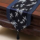 Shopping- Classic Table Runner Couverture Tissu Brocade Table basse Chinois Américain Continental Moderne ( taille : 33*150cm )