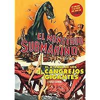EL MONSTRUO SUBMARINO (THE GIANT BEHEMOTH) + EL ATAQUE DE LOS CANGREJOS GIGANTES