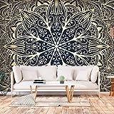 murando - Fototapete Mandala 350x256 cm - Vlies Tapete - Moderne Wanddeko - Design Tapete - Wandtapete - Wand Dekoration - Orient Zen Spa f-A-0637-a-b