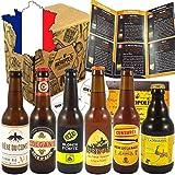 Pack coffret box 6 bières blondes artisanales françaises 33cl - Cadeau idéal