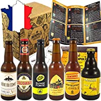 Cet assortiment est le coffret idéal pour faire plaisir ou se faire plaisir avec les meilleures bières artisanales sélectionnées par Cédric et Thibaut, nos deux experts Biérologues. Vous trouvez dans ce pack les bières artisanales blondes françaises ...
