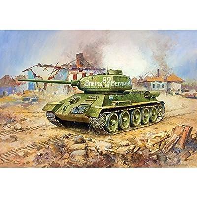 Zvezda 500785039 - 1:72 T-34/85 Soviet Medium Tank WWII von Zvezda