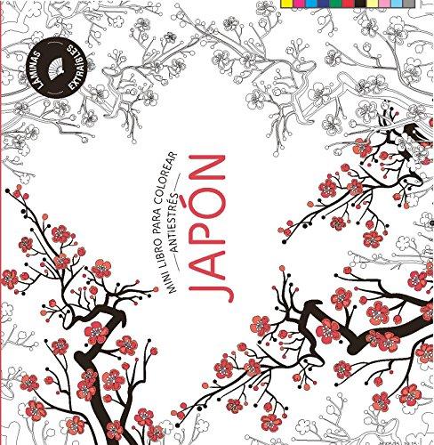 JAPÓN: Mini libro antiestrés para colorear (PRACTICA)