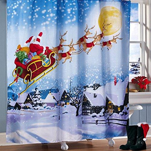bluelover-180x180cm-santa-vuelo-ducha-impermeable-cortina-bano-decoracion-de-navidad-con-12-ganchos