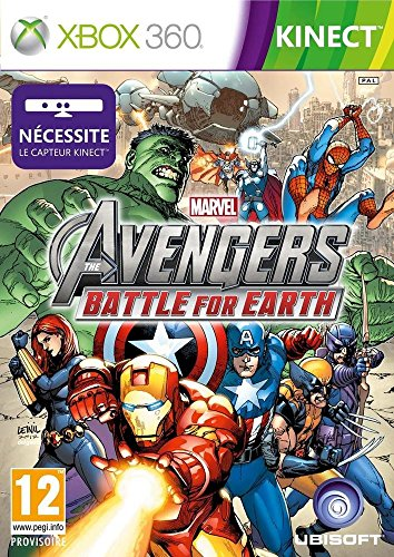 MARVEL AVENGERS : BATTLE FOR EARTH (JEU KINECT) IMPORTACION FRANCESA