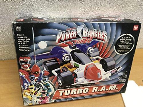Power Rangers: Turbo; 7 Waffen verwandeln sich in den Turbo R.A.M