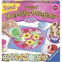 Ravensburger Mandala Designer Sand Romantic, con 8 Modelos Mandala y 6 frascos de Arena (298877)