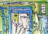Originalkunst im Großformat ★ Acrylgemälde ★ Kommunikation ist alles von Etelka Kovacs-Koller