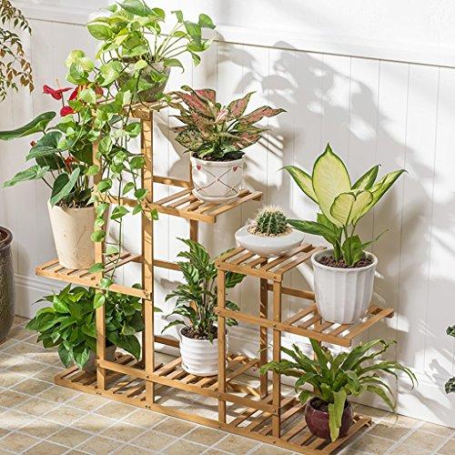 Rampa per vaso da fiori per bamb fioriera per vasca per fioriera da esterno balcone stand per - Bambu in vaso da esterno ...