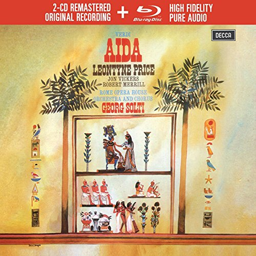 Verdi: Aida (Livre-Disque 2CD+BluRay Audio - Tirage Limité)