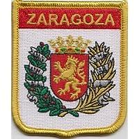 España Zaragoza bandera bordada remiendo