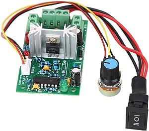 PWM DC Module de Contr/ôleur de Vitesse du Moteur R/égulation de la Vitesse du Moteur 1.8V 3V 5V 6V 12V 2A R/égulation de la Vitesse du Moteur CC