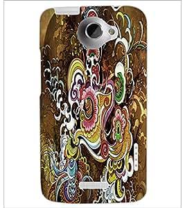 HTC ONE X RANGOLI Designer Back Cover Case By PRINTSWAG