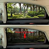 Windshield-Sun-Shade-Baby-Sun-Shade-2-Piece-Set-by-KoolZone-Universal-Window-Shade-Reduces-Interior-Heat-Protects-Children-Decreases-Sun-Damage-Easy-to-Install