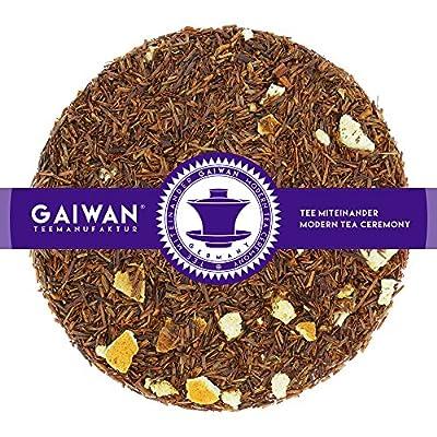 """N° 1269: Thé rooibos """"Crème à l'orange"""" - feuilles de thé - GAIWAN® GERMANY - rooibos, orange, nougatine"""