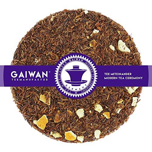 N° 1269: Tè rosso Rooibos in foglie 'Orange Cream (Crema d'Arancia)' - 100 g - GAIWAN GERMANY - tè in foglie, rooibos, arancia