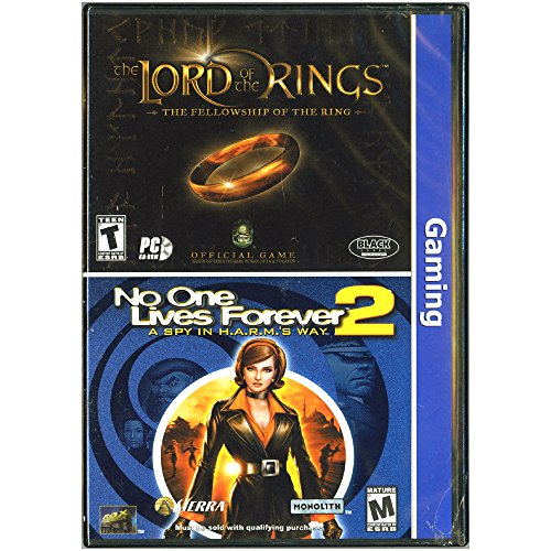 Herr der Ringe: The Fellowship of the Rings & No One Lives Forever 2 [PC-Spiel] (Sierra Computer-spiele)