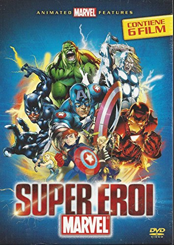 SUPER EROI MARVEL (COFANETTO 6 DVD)
