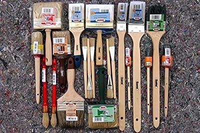 20 tlg. PROFI Maler Pinsel Set Flachpinsel Ringpinsel Flächenstreicher Strichzieher Heizkörperpinsel Lackpinsel Emaillepinsel Flachpinsel von 1A Malerwerkzeuge bei TapetenShop