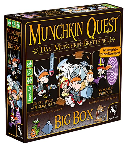 Pegasus Spiele 51953G - Munchkin Quest Big Box