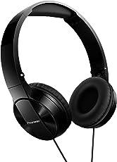 Pioneer SE-MJ503-K On-Ear-Kopfhörer (30 mm Treiber, gepolstertes Kopfband) schwarz