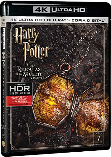 Harry Potter Y Las Reliquias De La Muerte Parte 1 (4K Ultra HD) [Blu-ray]