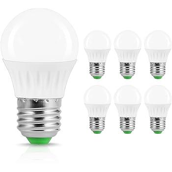 JandCase Bombillas LED E27, 5 W Equivalente a 40 W Incandescente, 500 lúmenes,