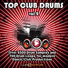 Top Club Drums Vol.2 - Mehr als 2500 Drum Samples und 700 Drum LoopsWAV Files (24Bit) DVD non BOX