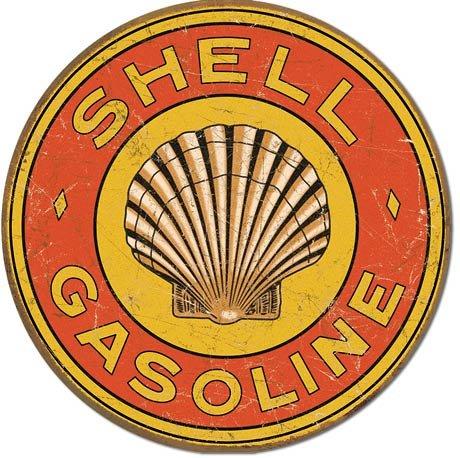 plaque-metal-shell-gasoline-1920s