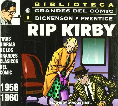 Rip Kirby 1958-1960 nº 08/12: