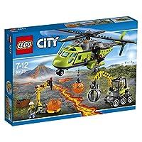 LEGO CITY ELICOTTERO DEI RIFORNIMENTI VULCANICO 60123